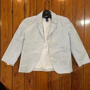 NWOT j. Crew blazer pinstripes size 0